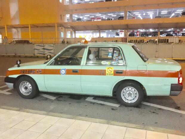 沖縄県の大手タクシー会社