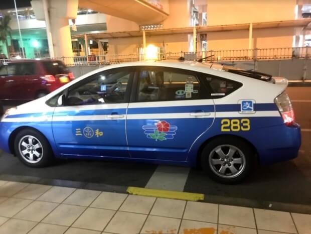 貸切で移動できる観光タクシー