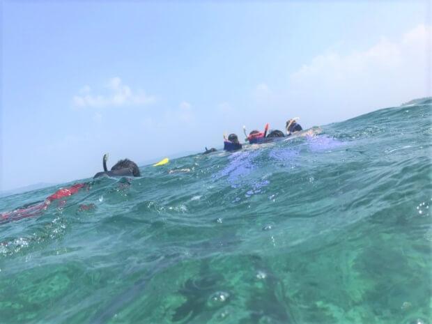 水納島のマリンスポーツ