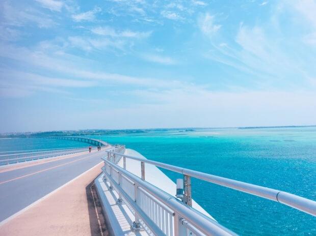 伊良部大橋から見える絶景