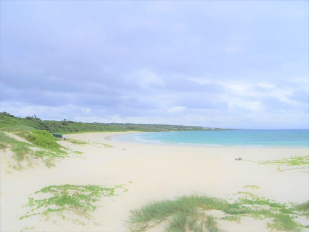 伊良部島のビーチ「渡口の浜」