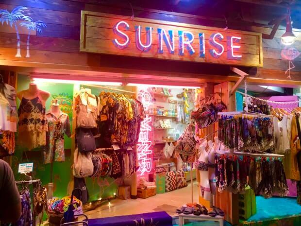 沖縄ファッション「SUNRISE」