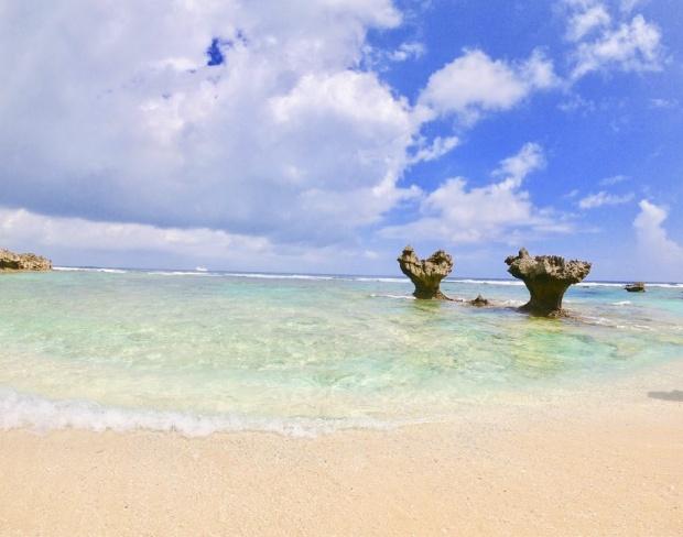 陸続きで行ける離島『古宇利島』
