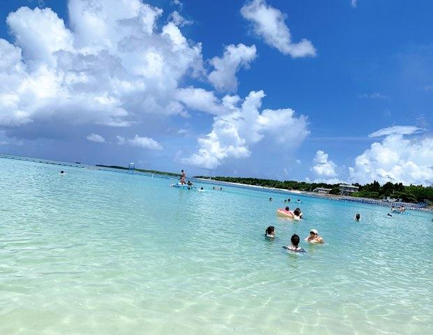 沖縄ベストシーズン①海水浴には【梅雨明け~7月上旬】