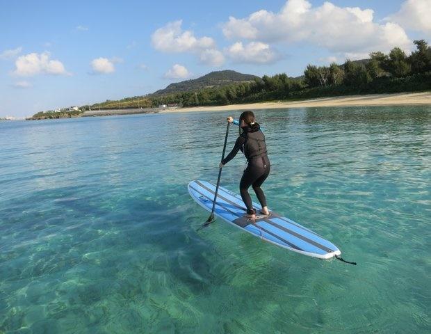 海水浴のベストシーズン@沖縄には「SUP」もおすすめ!