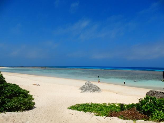 沖縄 綺麗な海 シュノーケリング