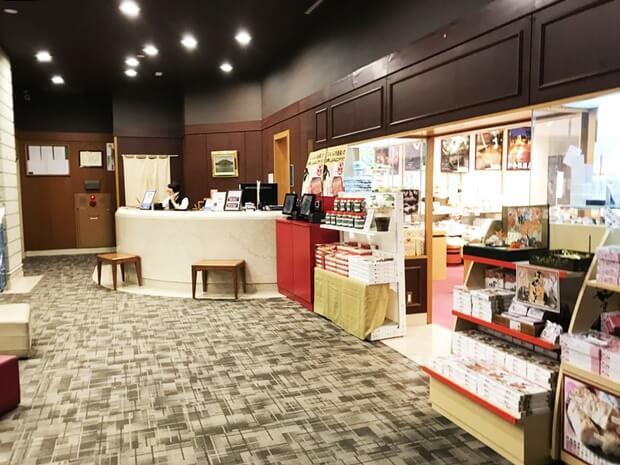 温泉旅館のバイト内容「売店・販売」